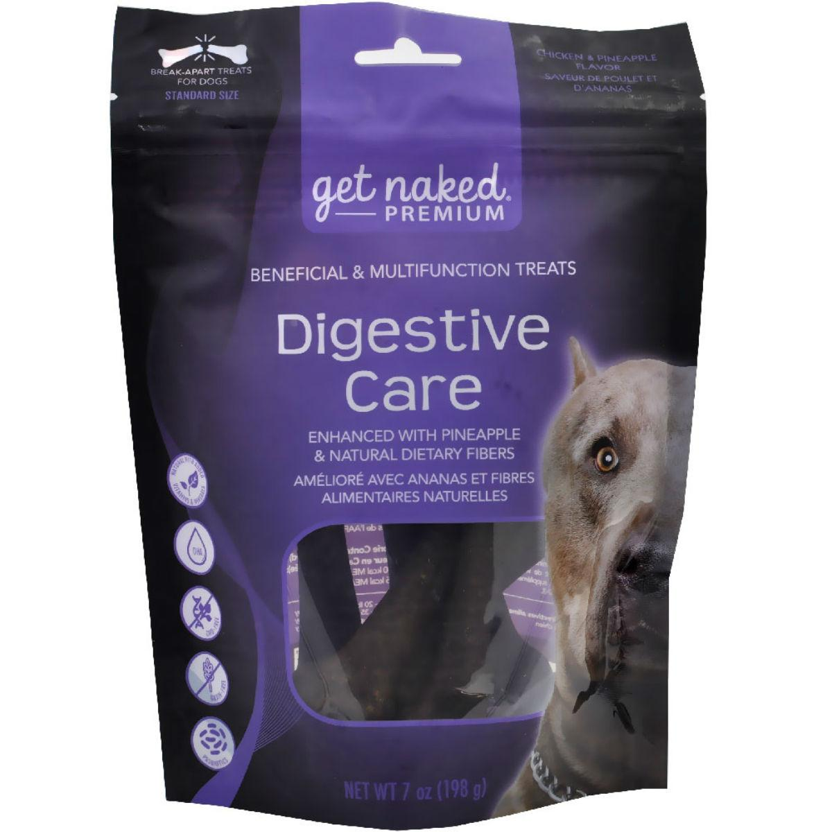 Get Naked Premium Dog Treats - Digestive Care
