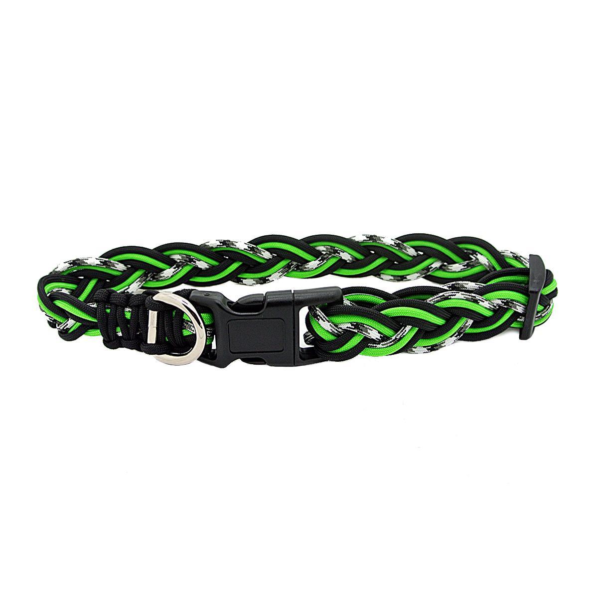 Ghost Dog Collar - Neon Green