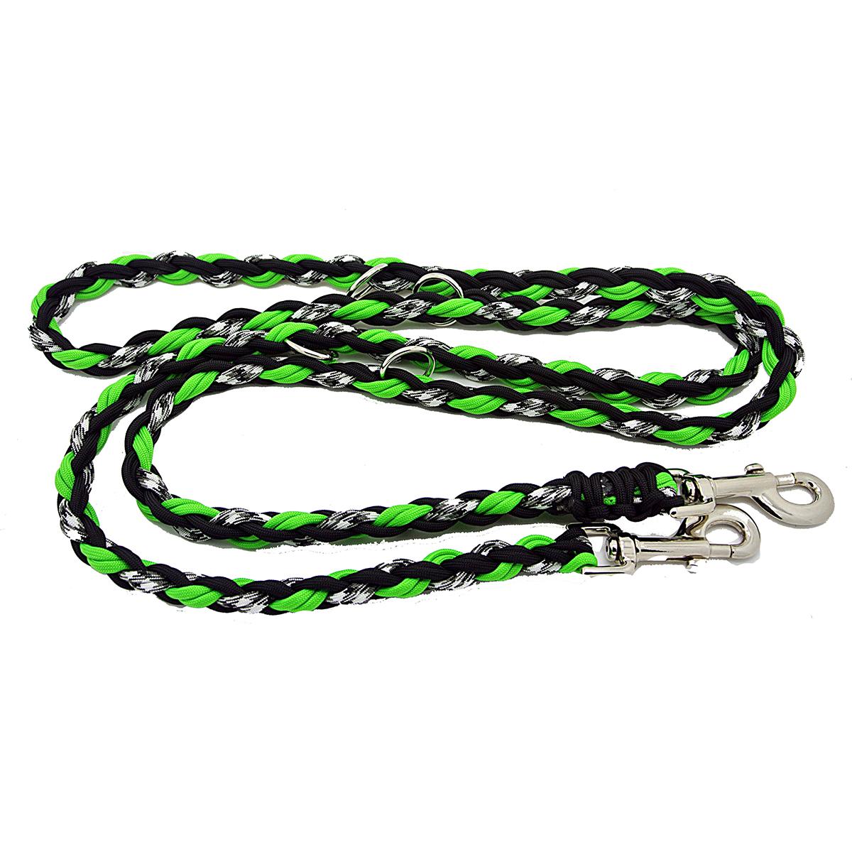 Ghost Multipurpose Dog Leash - Neon Green