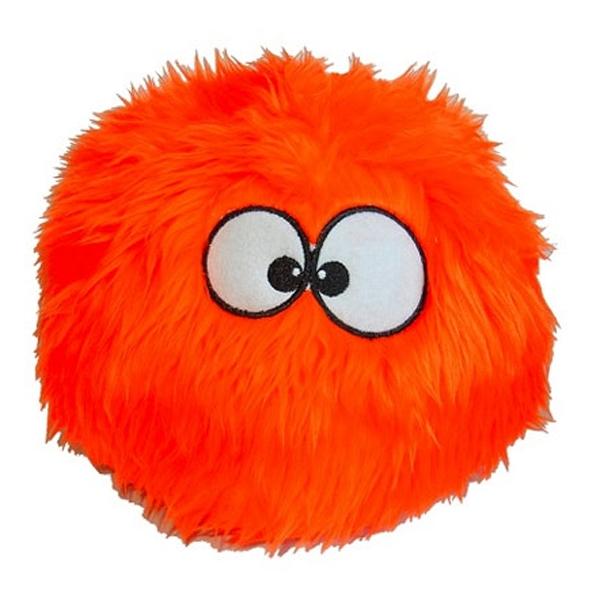 goDog Furballz Dog Toy - Orange