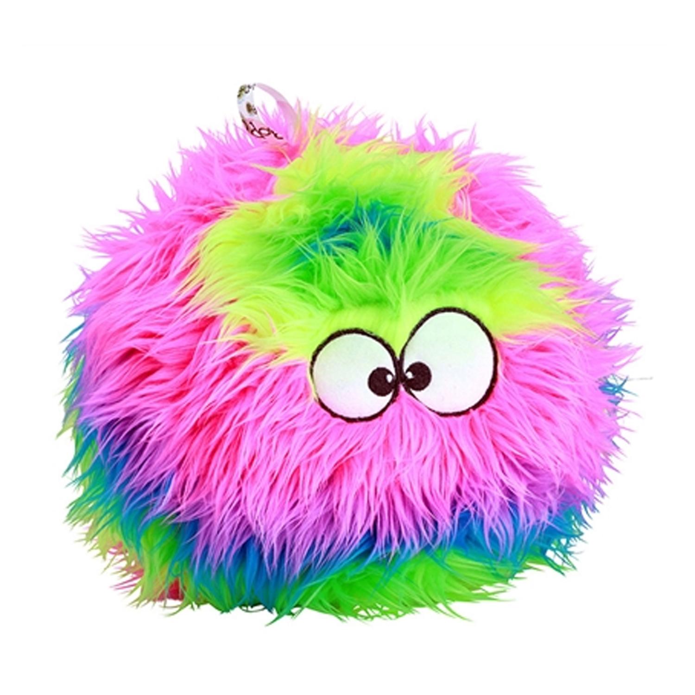 goDog FurBallz Dog Toy - Rainbow