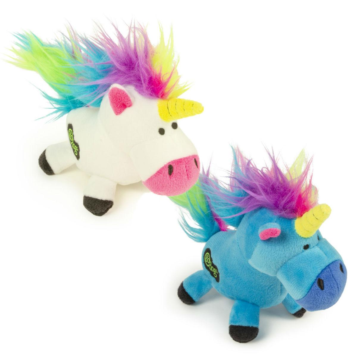 goDog Just for Me Unicorn Plush Dog Toy