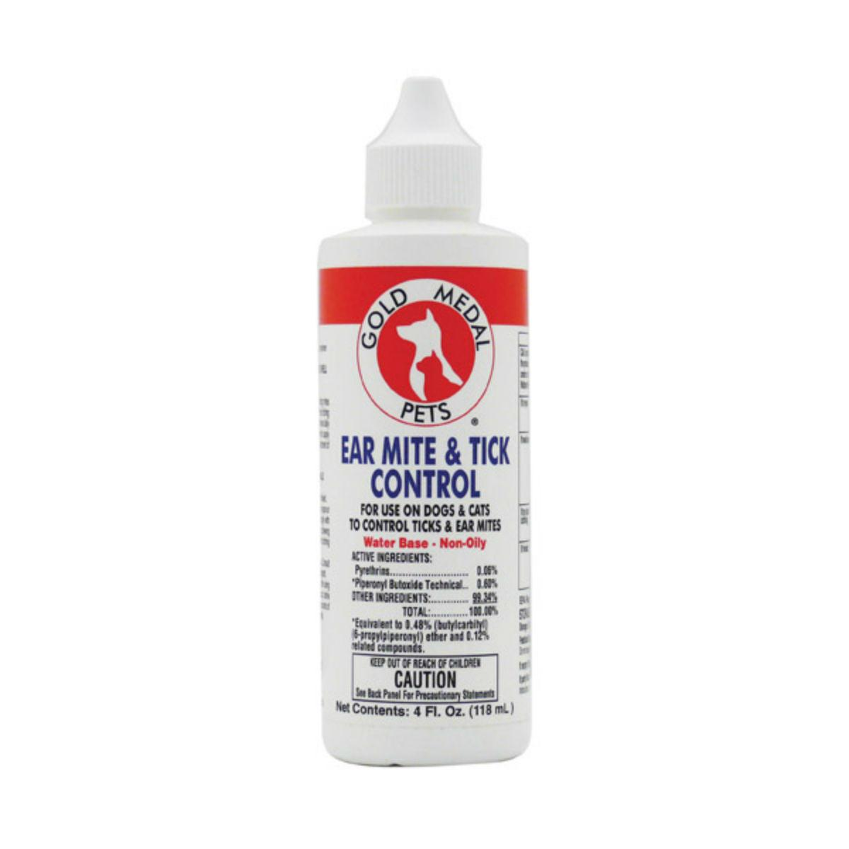 Gold Medal Ear Mite and Tick Control for Dogs & Cats