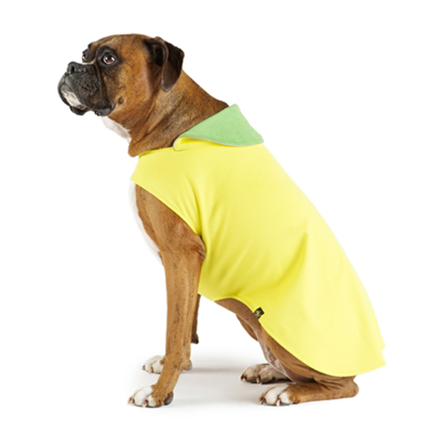 Gold Paw Astoria Dog Overcoat - Yellow