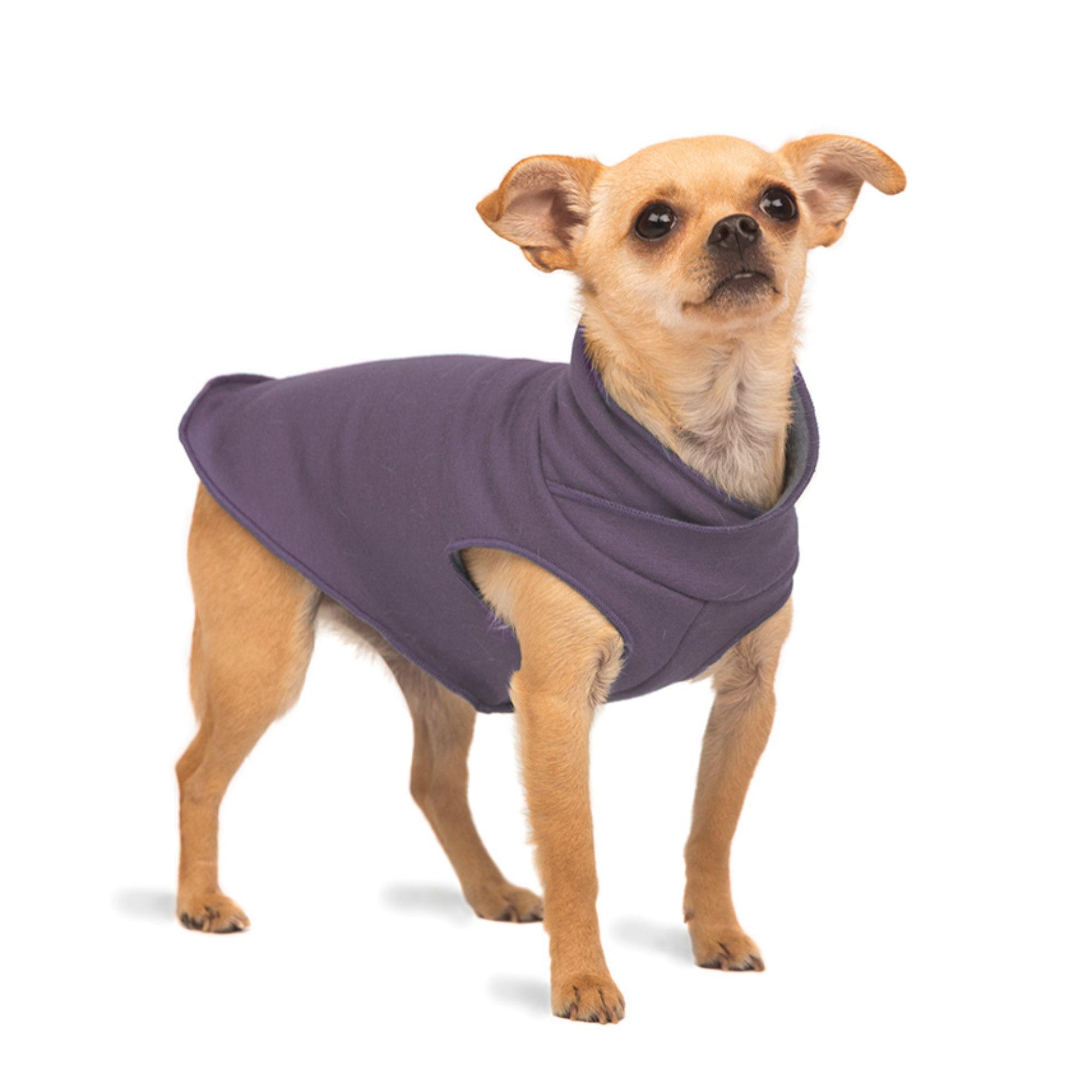 Gold Paw Santa Fe Dog Pullover - Vintage Violet