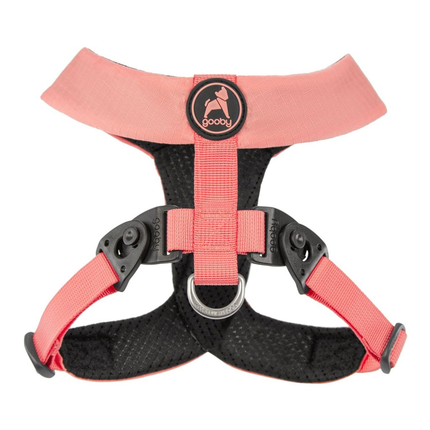 Gooby Comfort X Dual Snap Dog Harness - Pink