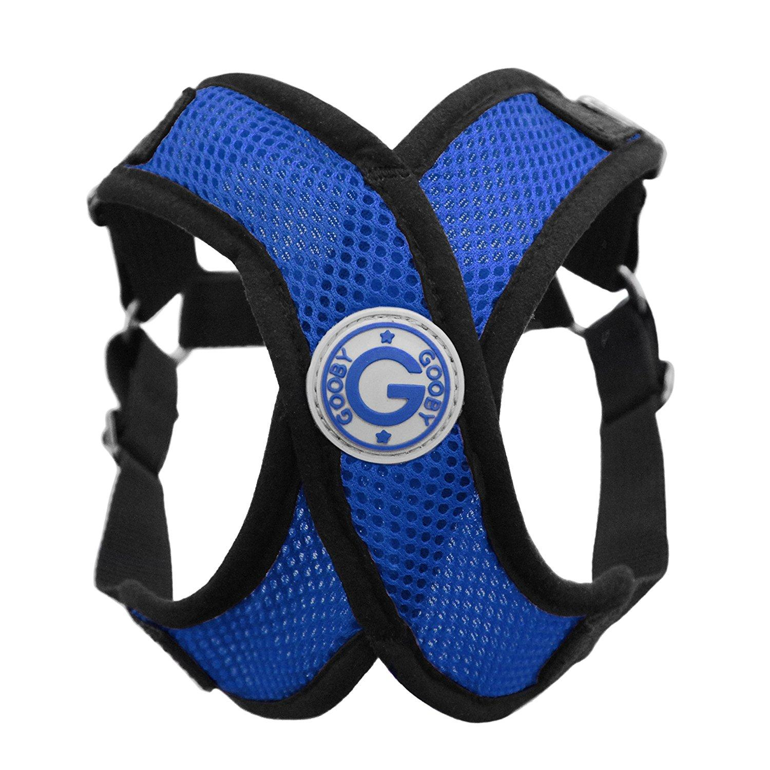 Gooby Comfort X Step-In Dog Harness - Blue