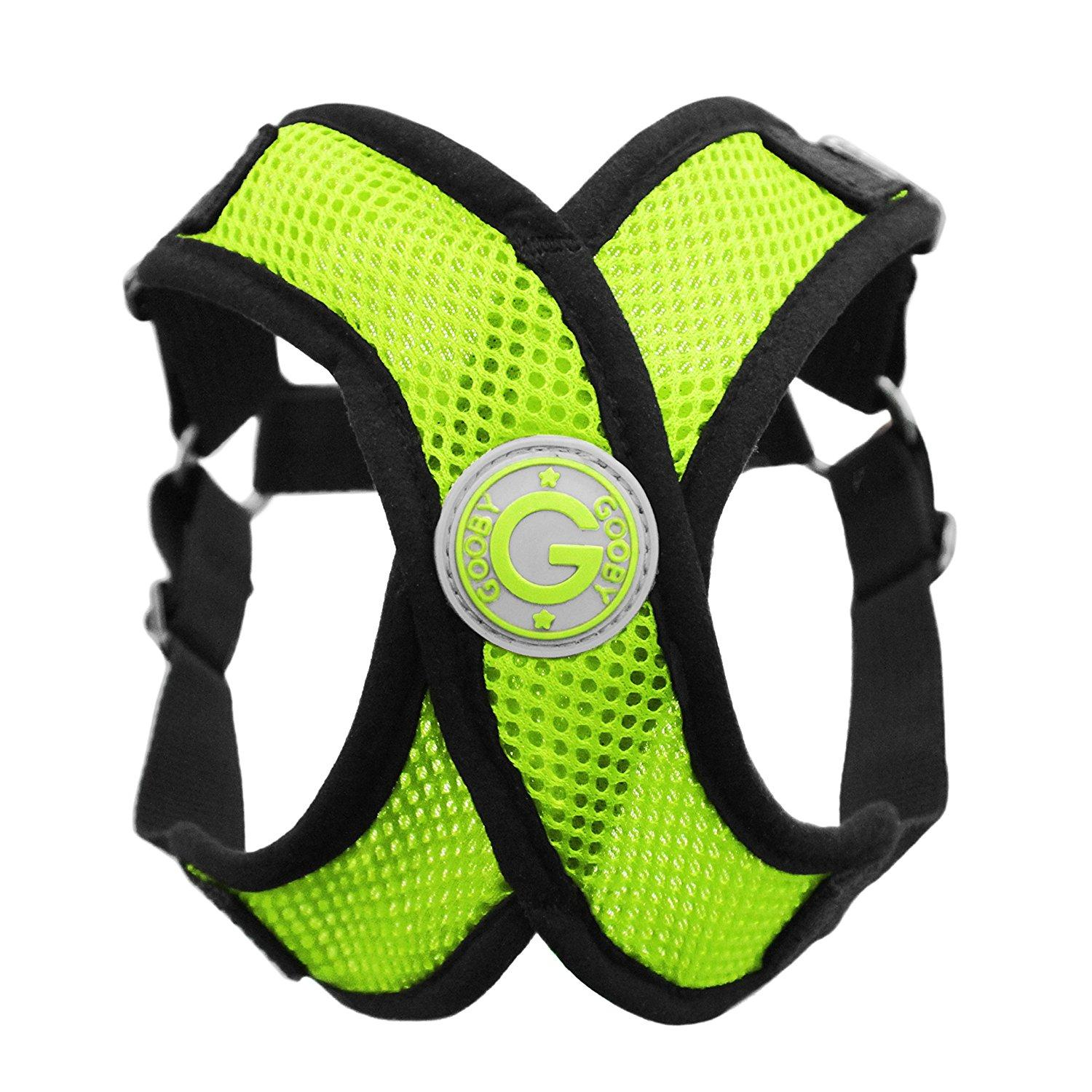 ab22dd51bb58 Gooby Comfort X Step-In Dog Harness - Lime Gr... | BaxterBoo