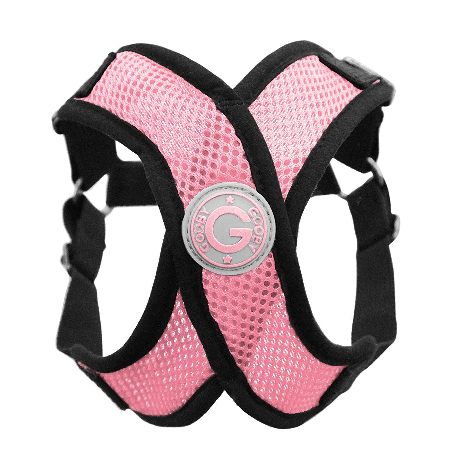 Gooby Comfort X Step-In Dog Harness - Pink
