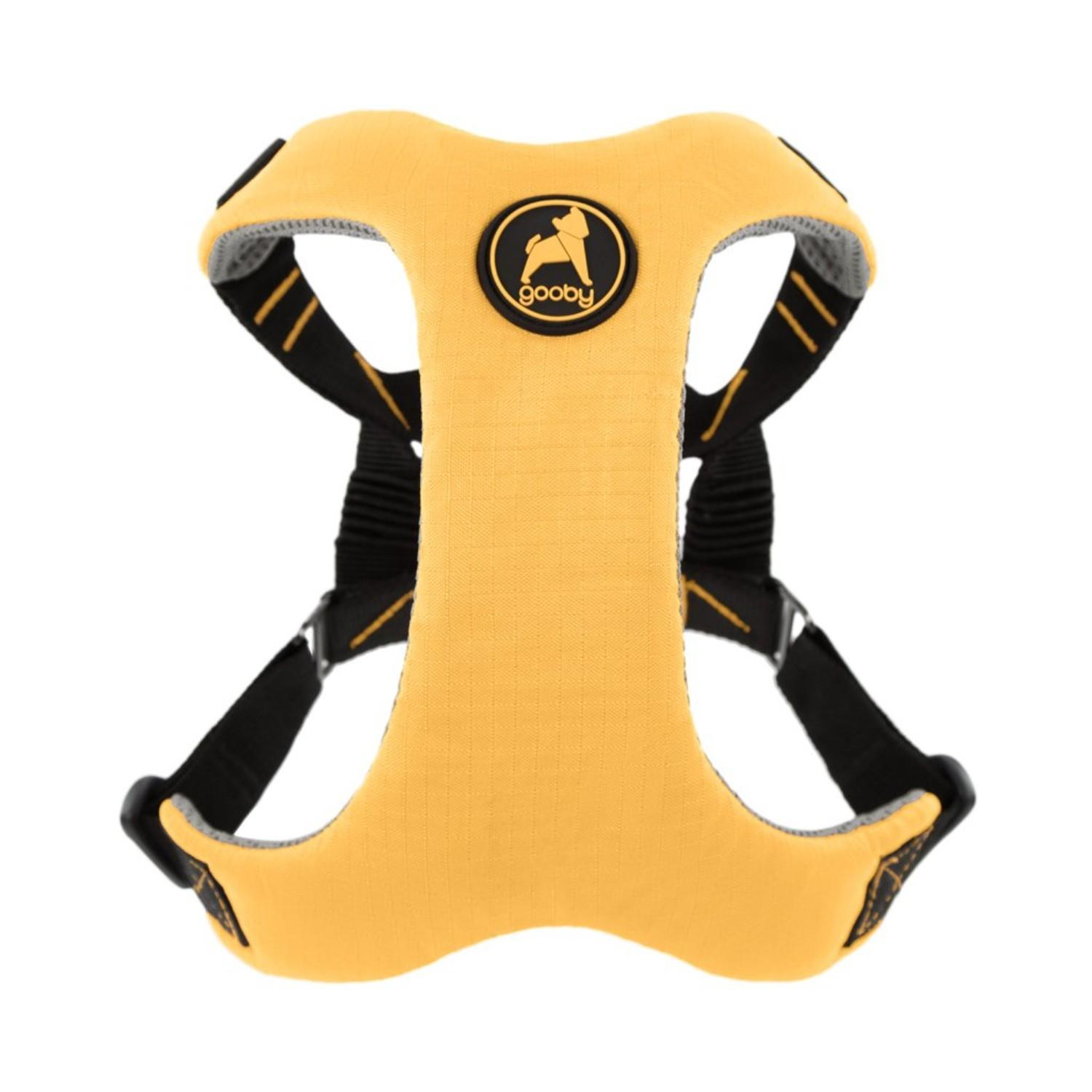 Gooby Convertible Z Dog Harness - Yellow