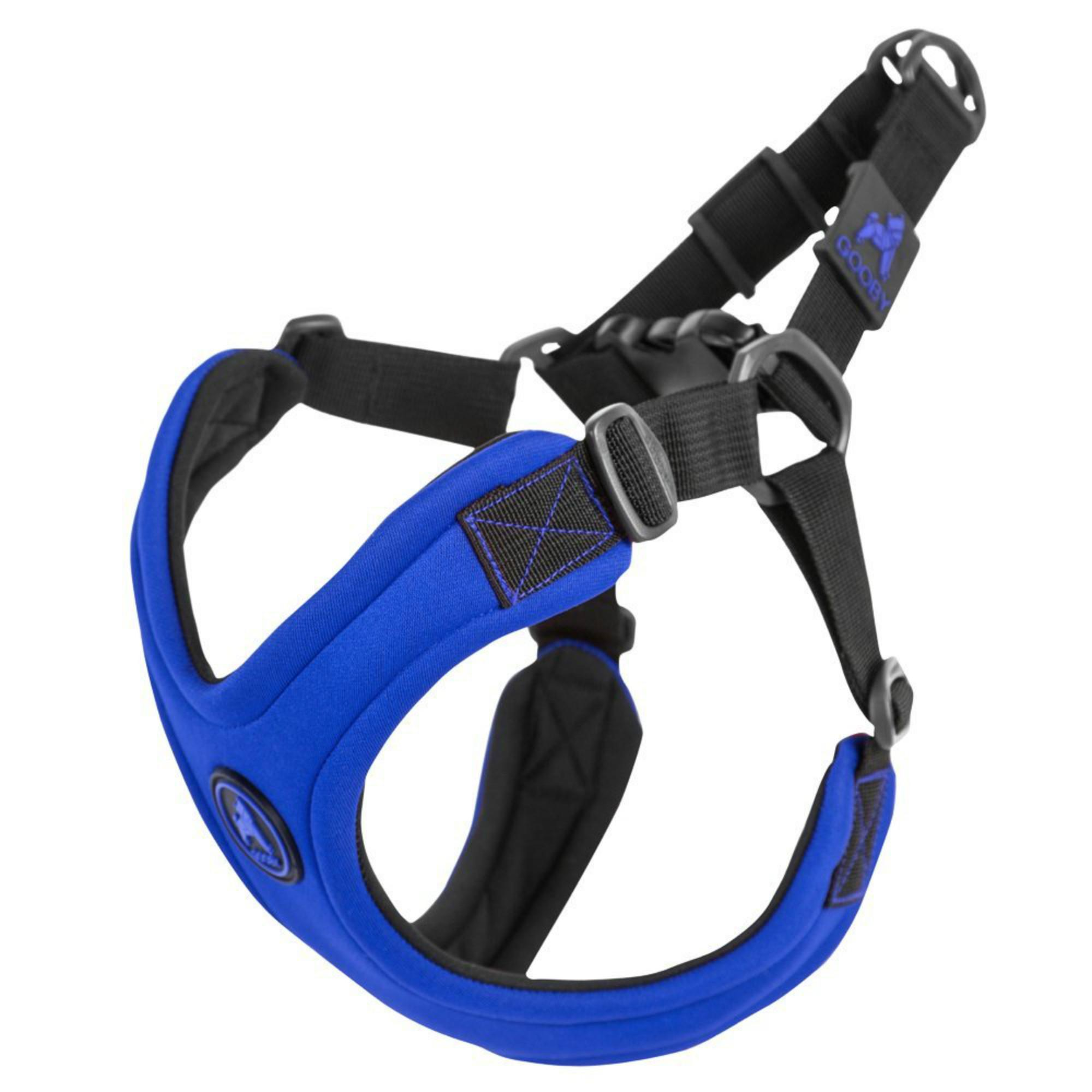 Gooby Escape Free Sport Dog Harness - Blue