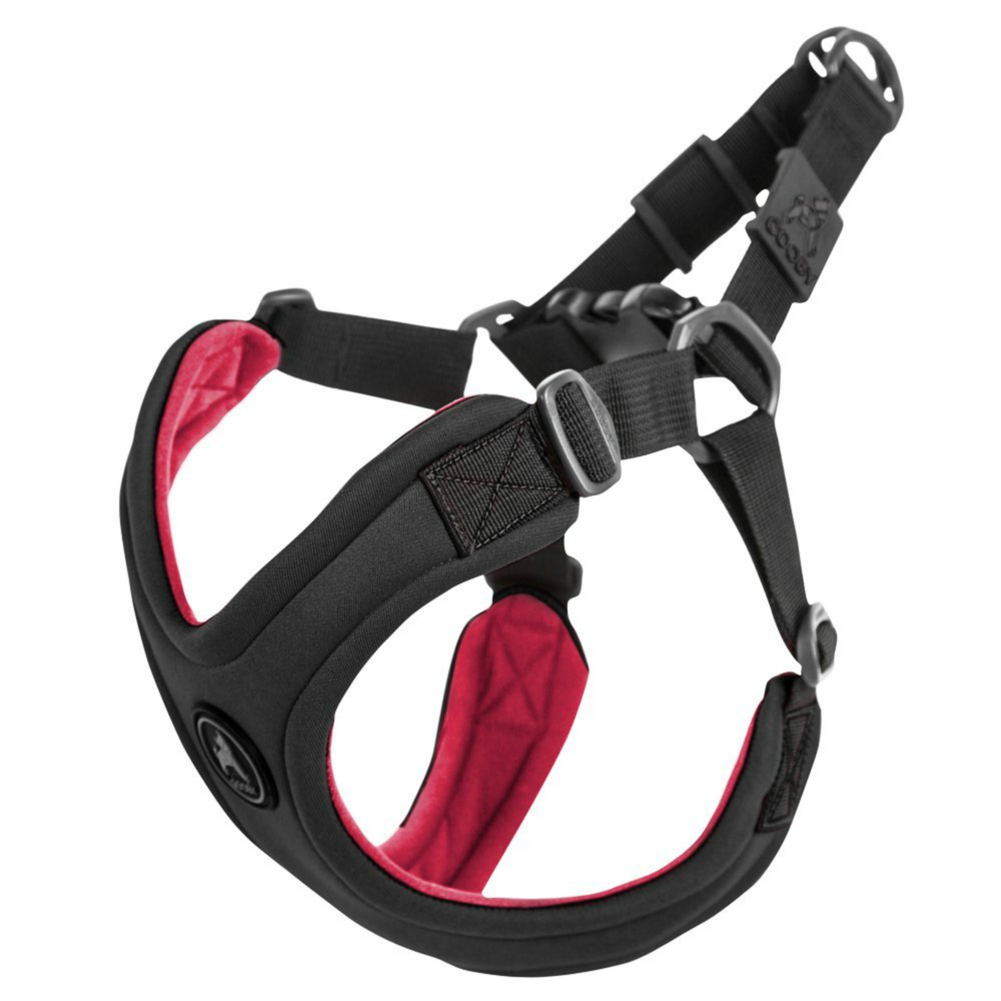 Gooby Escape Free Sport Dog Harness - Black