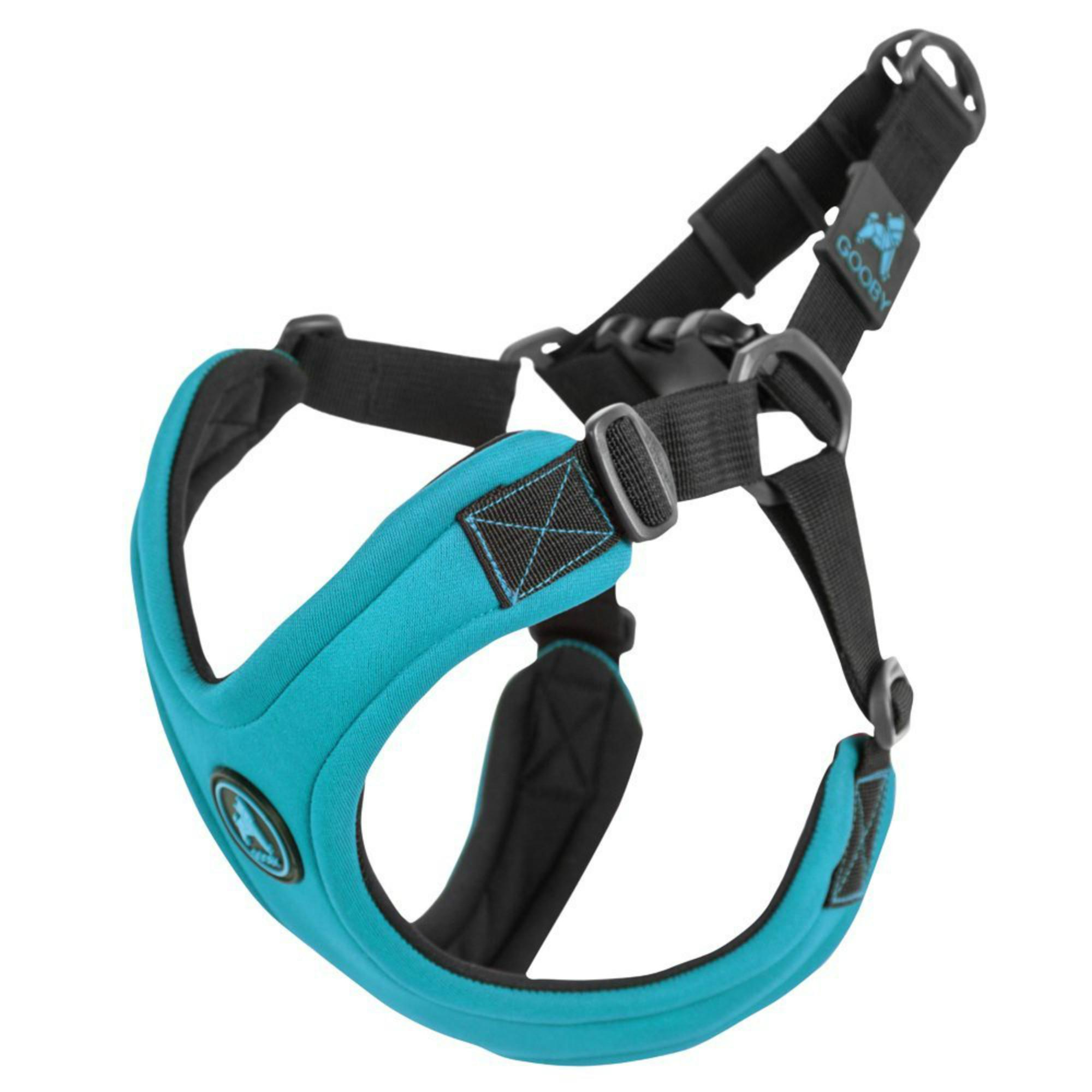 Gooby Escape Free Sport Dog Harness - Turquoise
