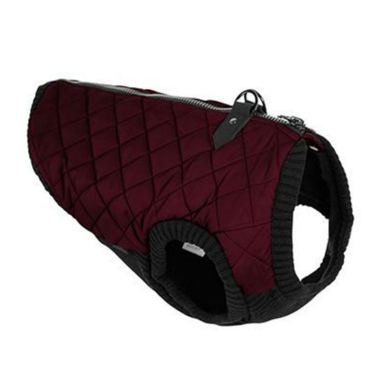 Gooby Fashion Quilted Dog Vest - Purple