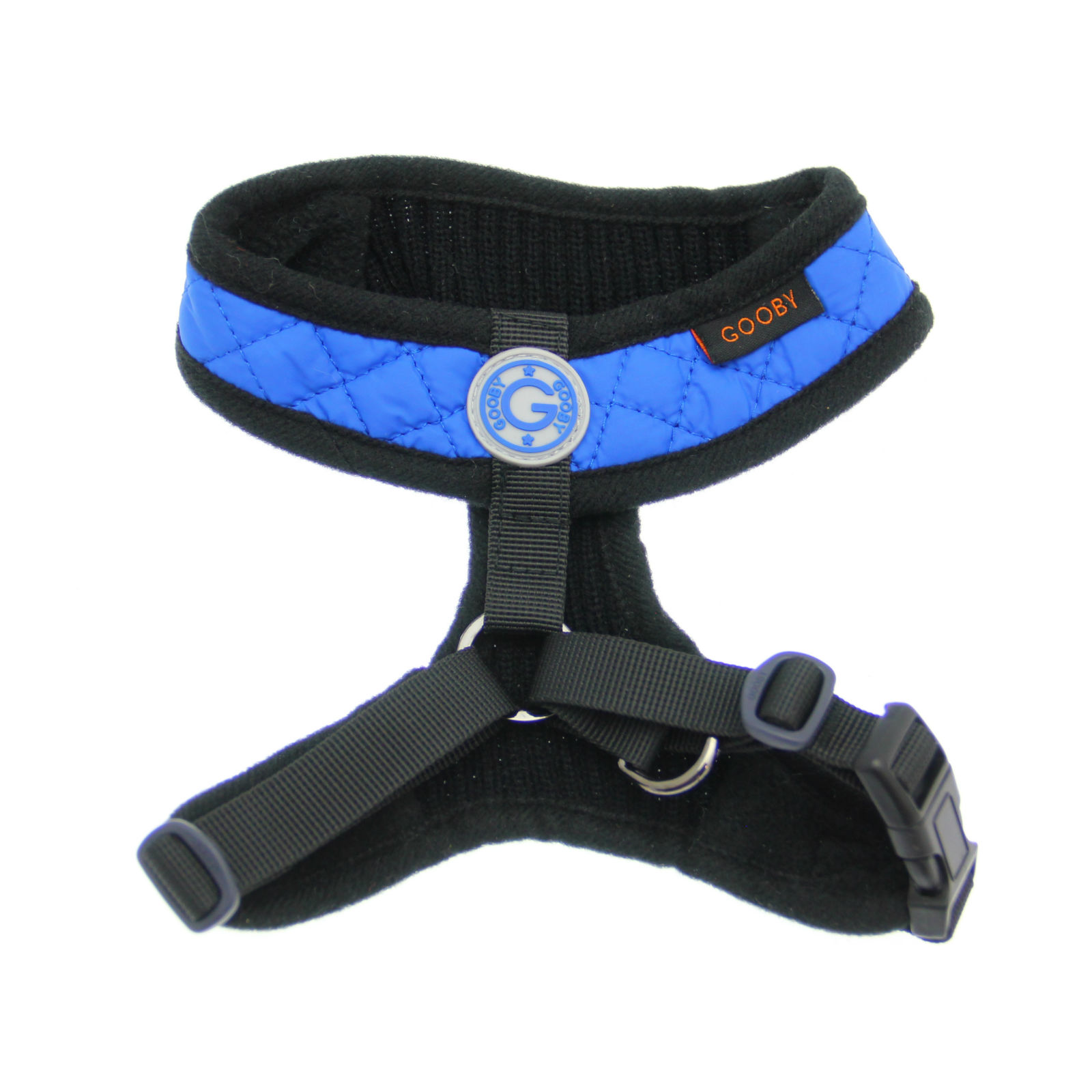 Gooby Fashion Vest Dog Harness - Blue
