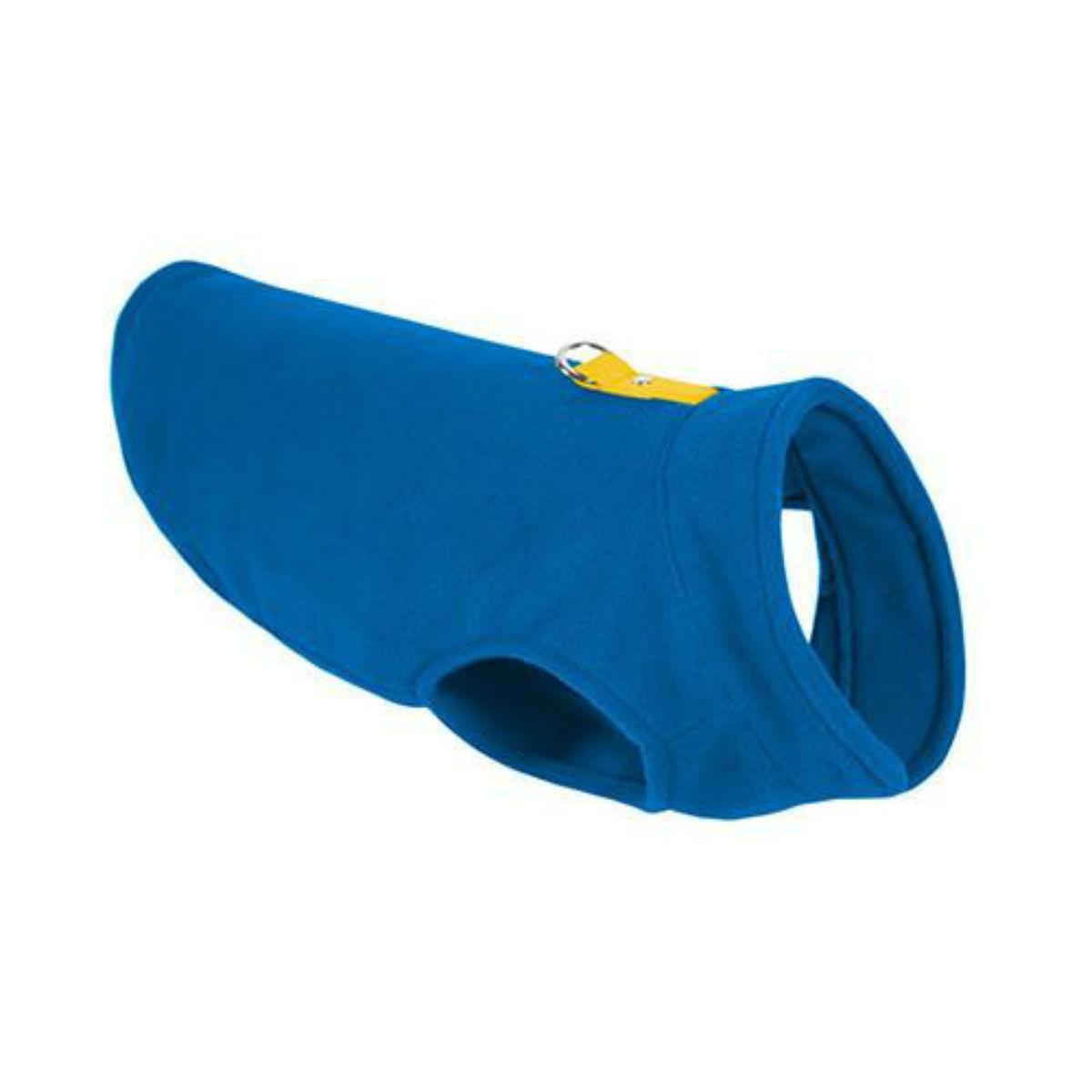 Gooby Fleece Dog Vest - Deep Blue