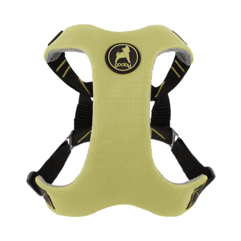 Gooby Convertible Z Dog Harness - Green