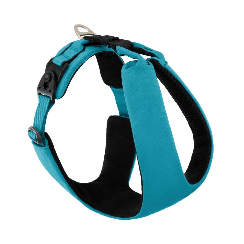 Gooby Lite Gear Z Dog Harness - Turquoise