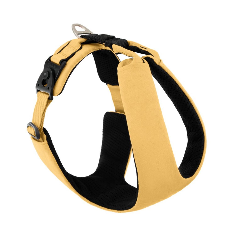 Gooby Lite Gear Z Dog Harness - Yellow