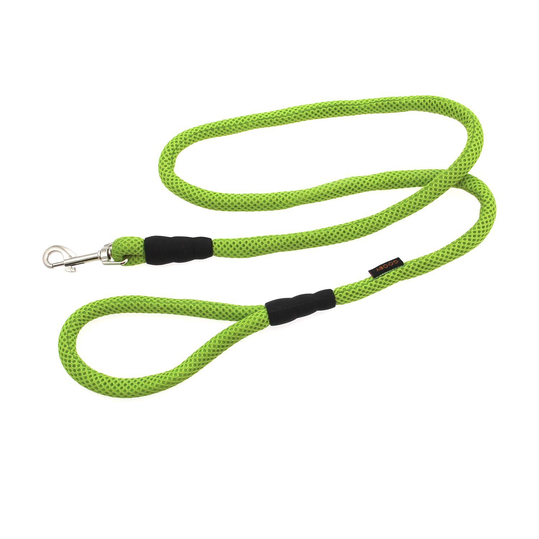 Gooby Mesh Fabric Dog Leash - Green