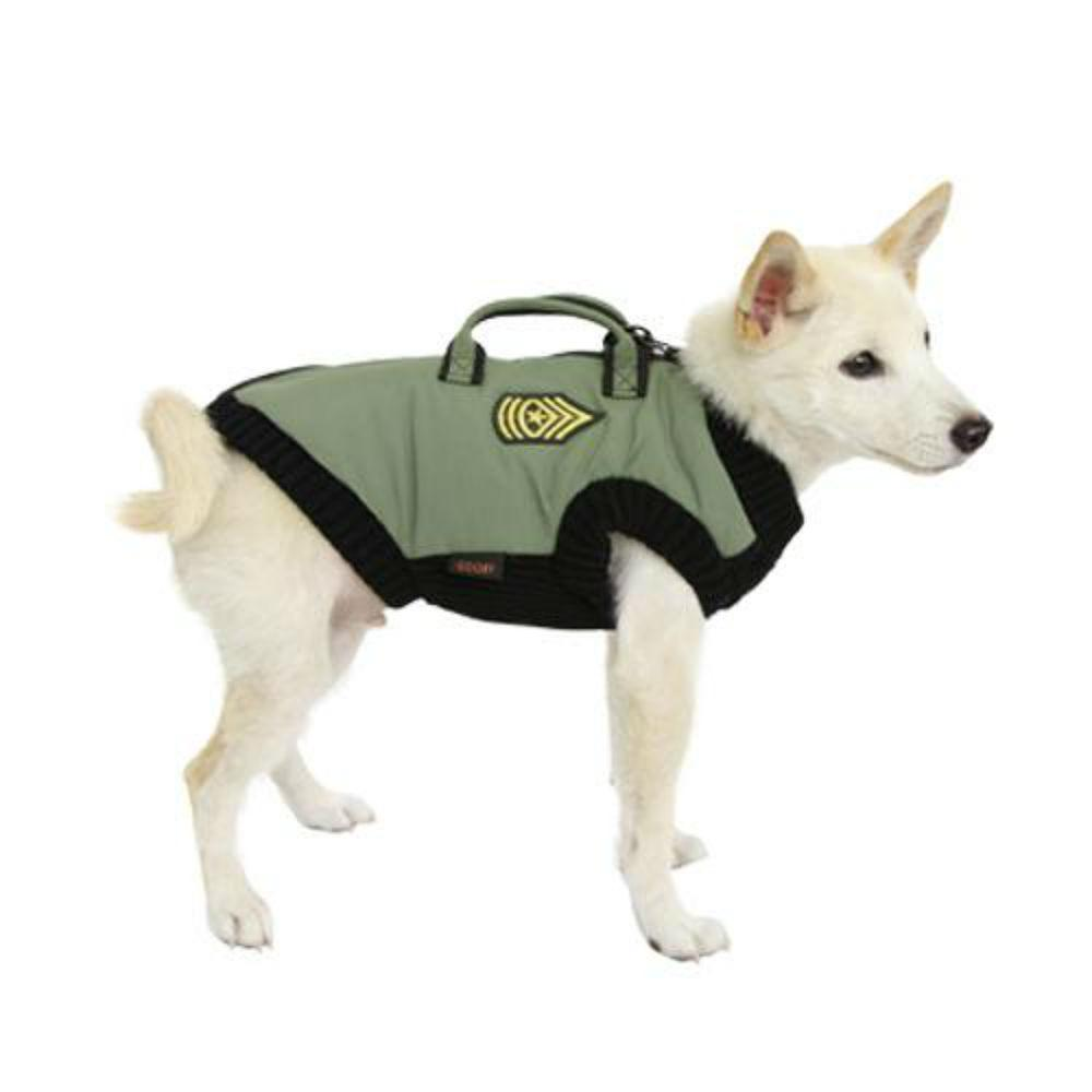 Gooby Military Dog Vest - Green