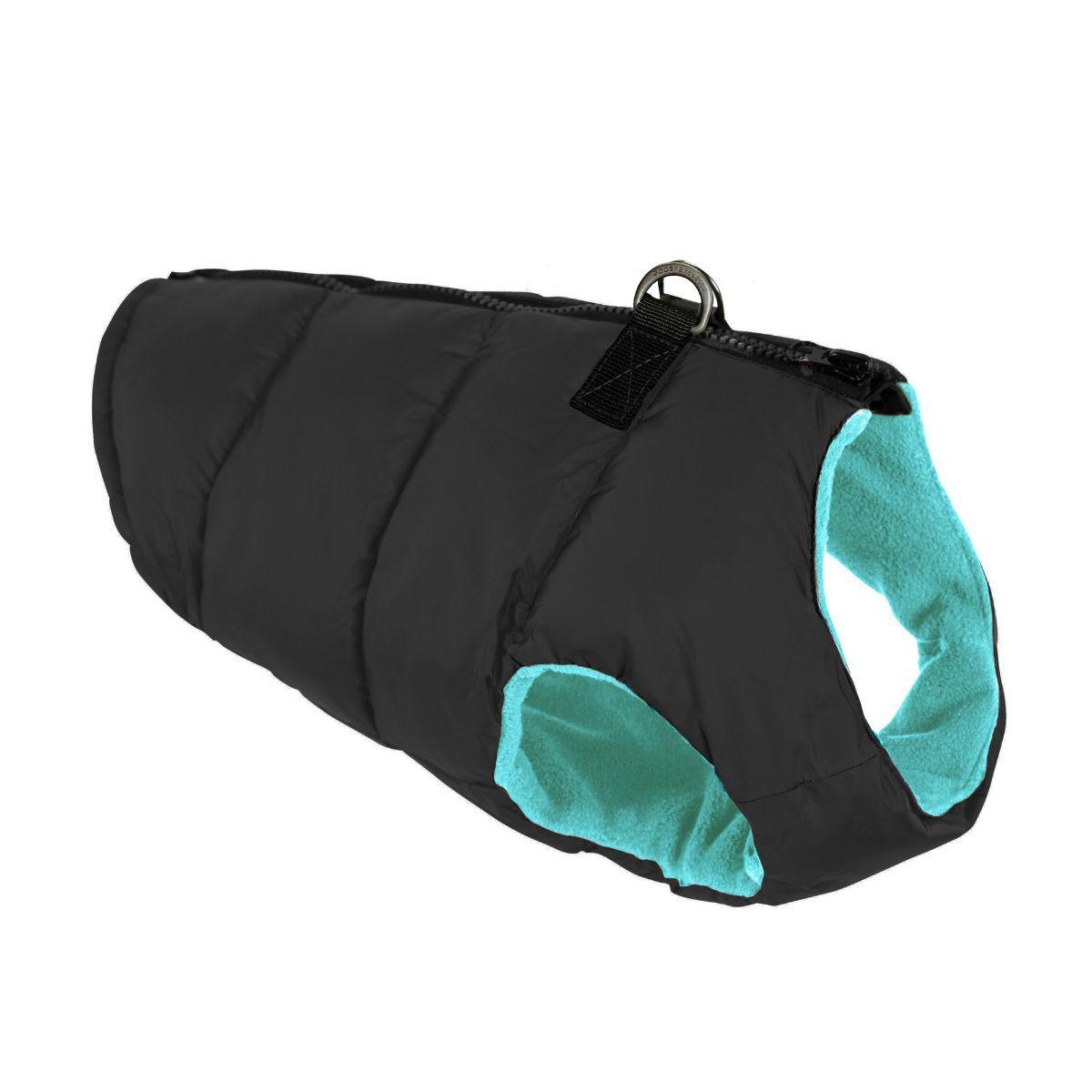 Gooby Padded Dog Vest - Black