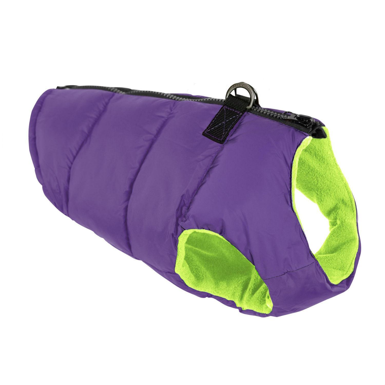 Gooby Padded Dog Vest - Purple