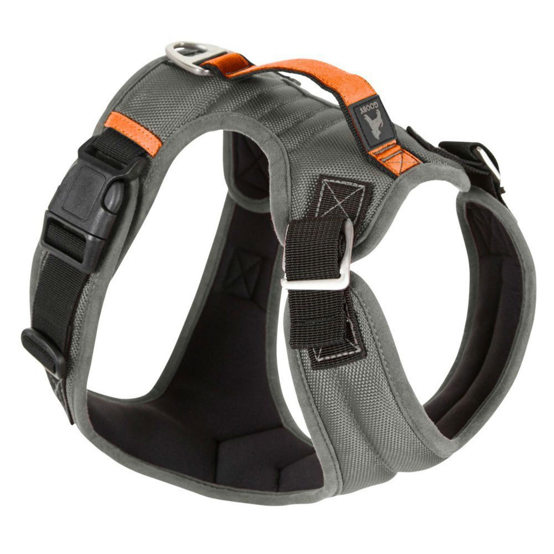 Gooby Pioneer Dog Harness - Gray