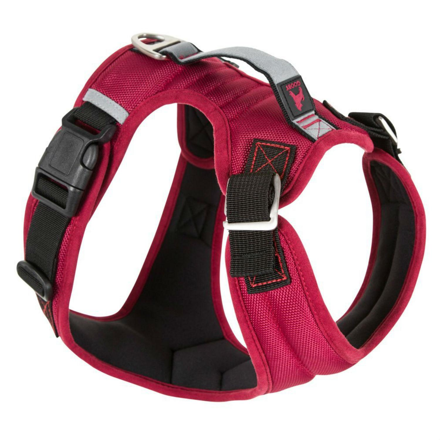 Gooby Pioneer Dog Harness - Red