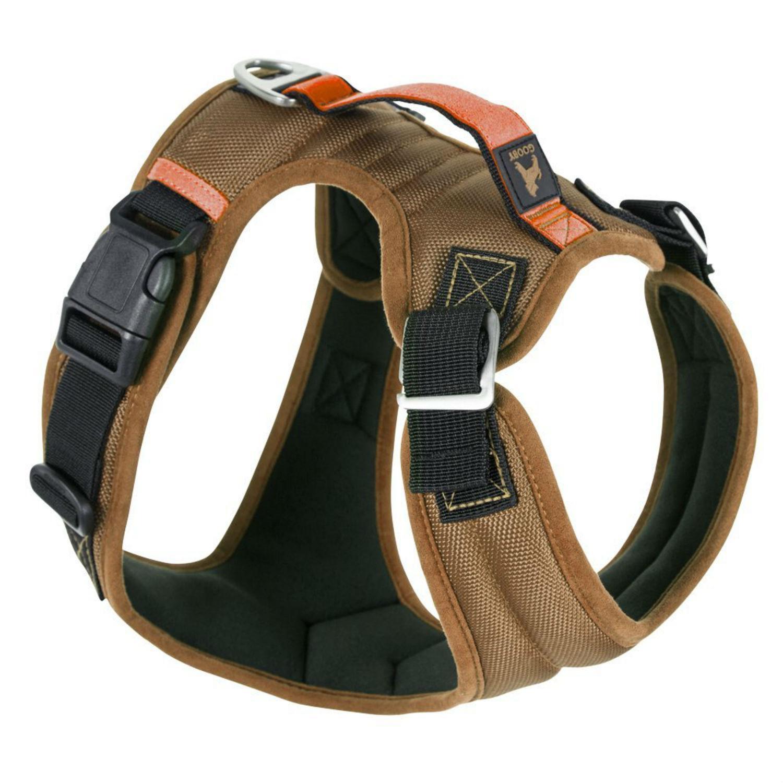 Gooby Pioneer Dog Harness - Sand