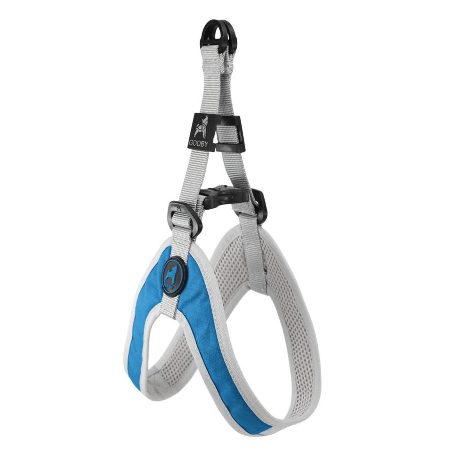 Gooby Simple Step-In Dog Harness - Blue