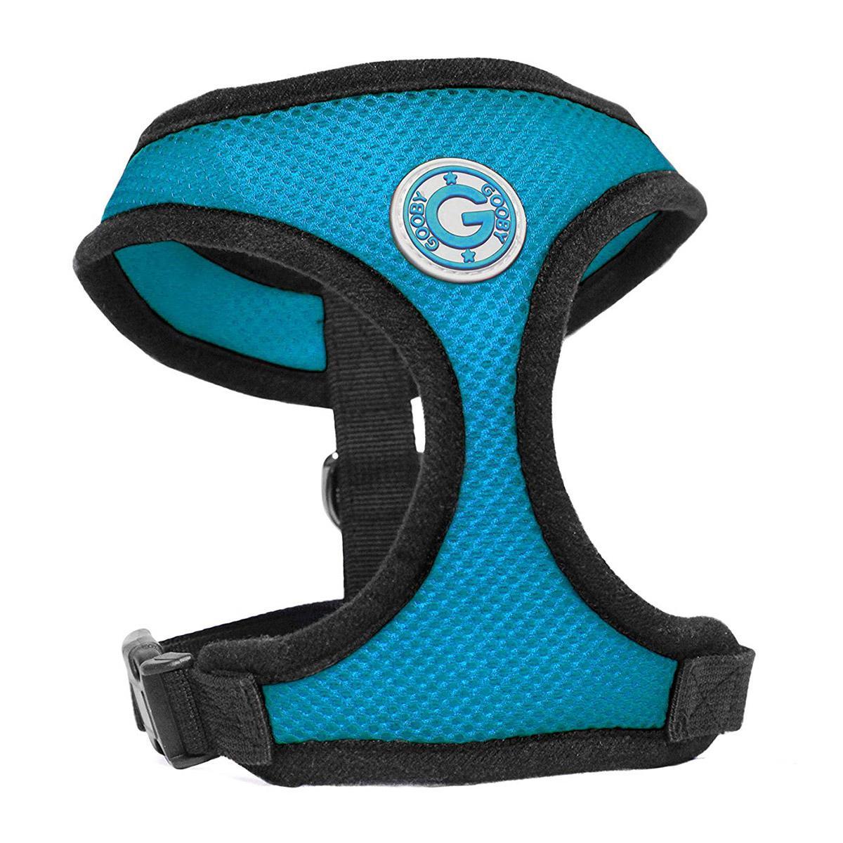 Gooby Soft Mesh Dog Harness - Sea Blue