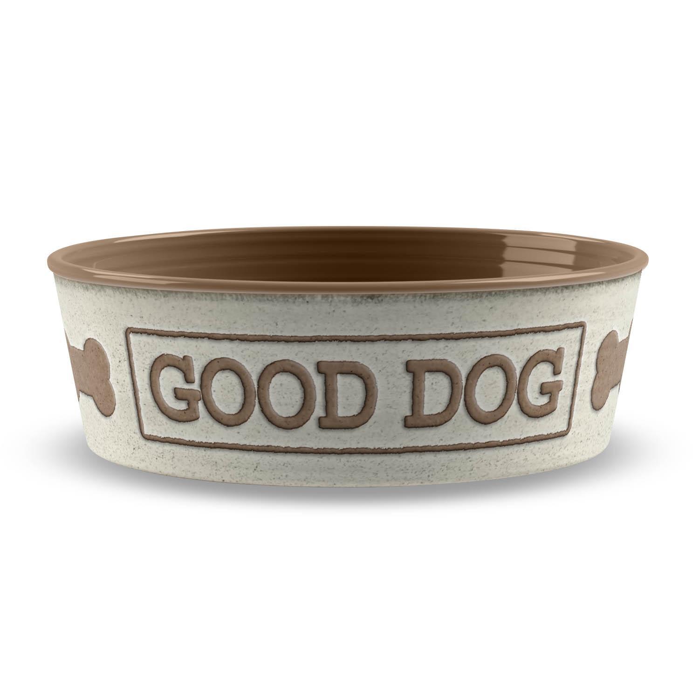 Good Dog Pet Bowl by TarHong - Natural