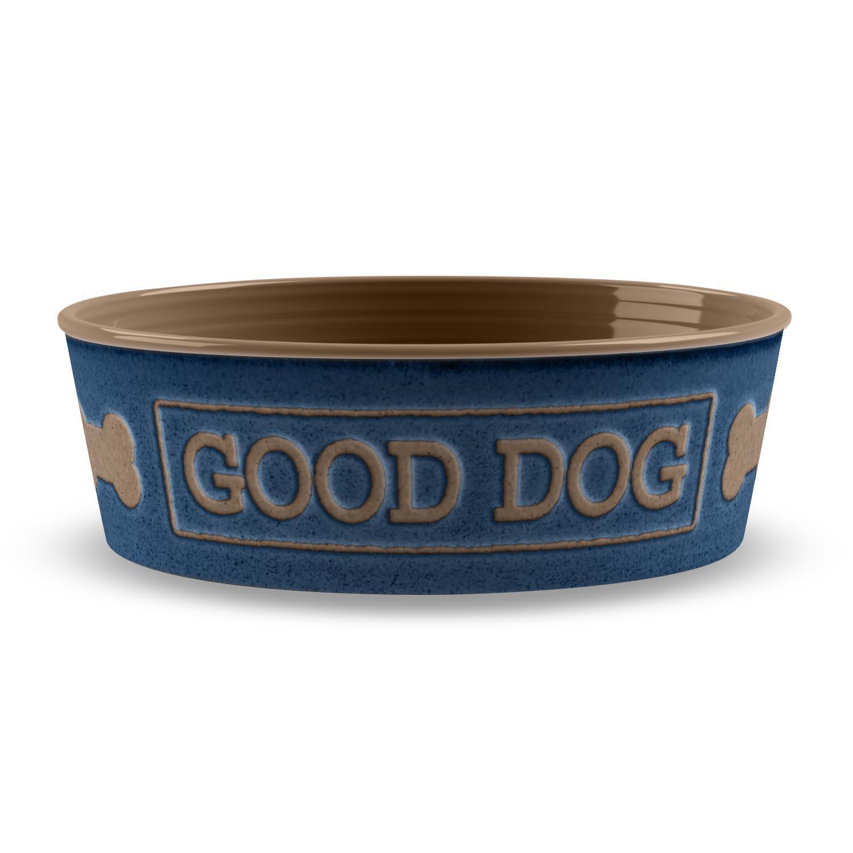Good Dog Pet Bowl by TarHong - Indigo