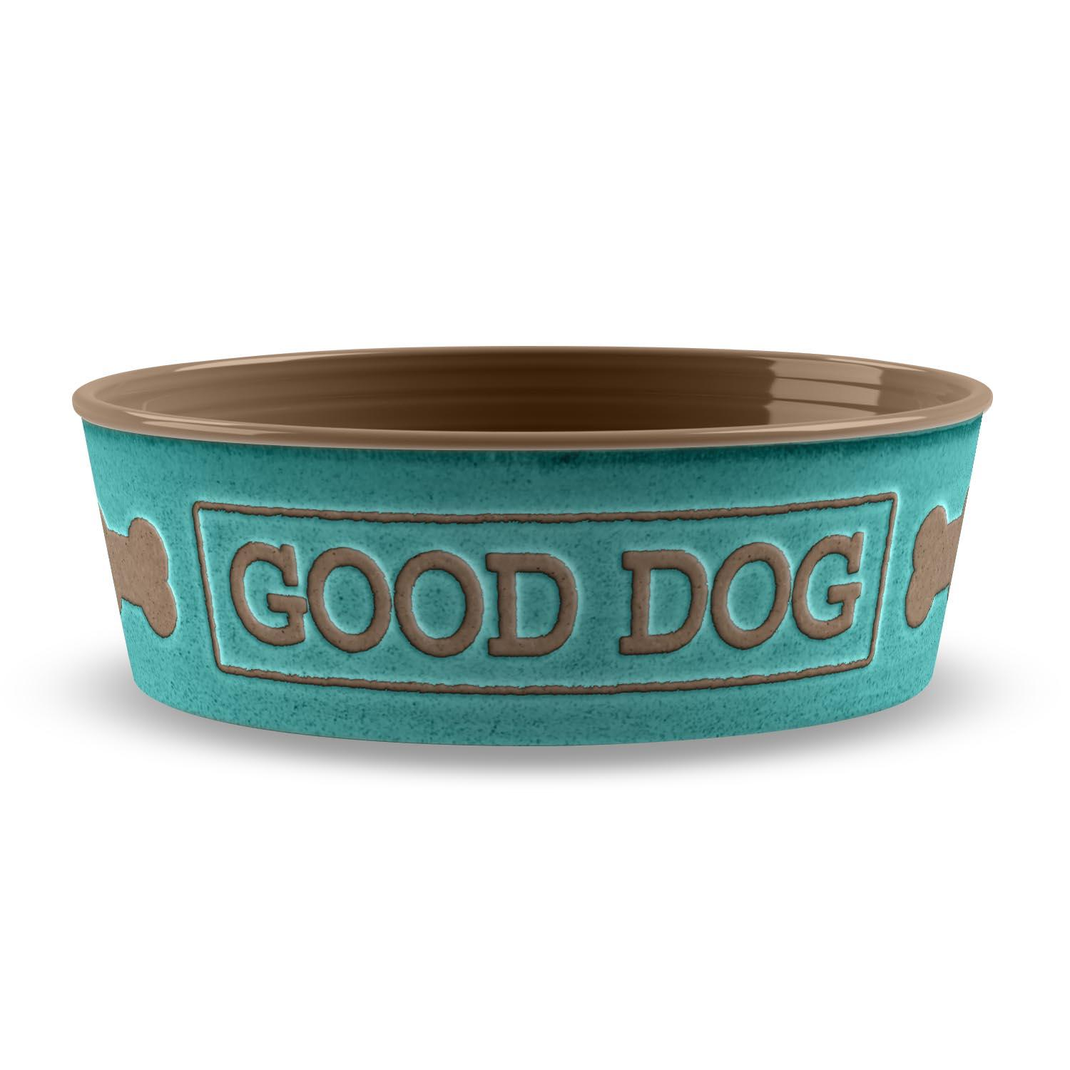 Good Dog Pet Bowl by TarHong - Teal