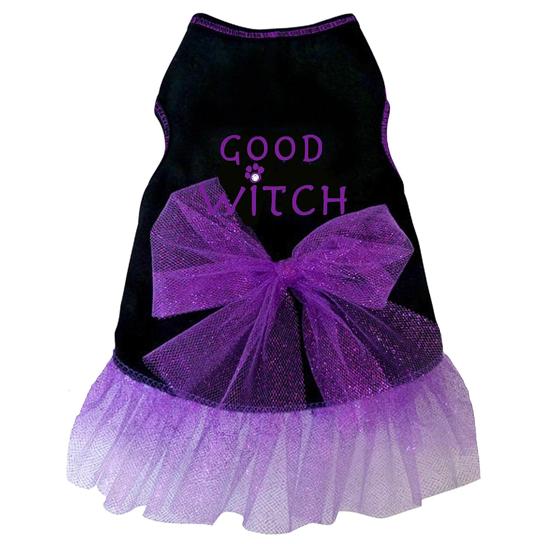 Good Witch Tank Dog Dress - Black