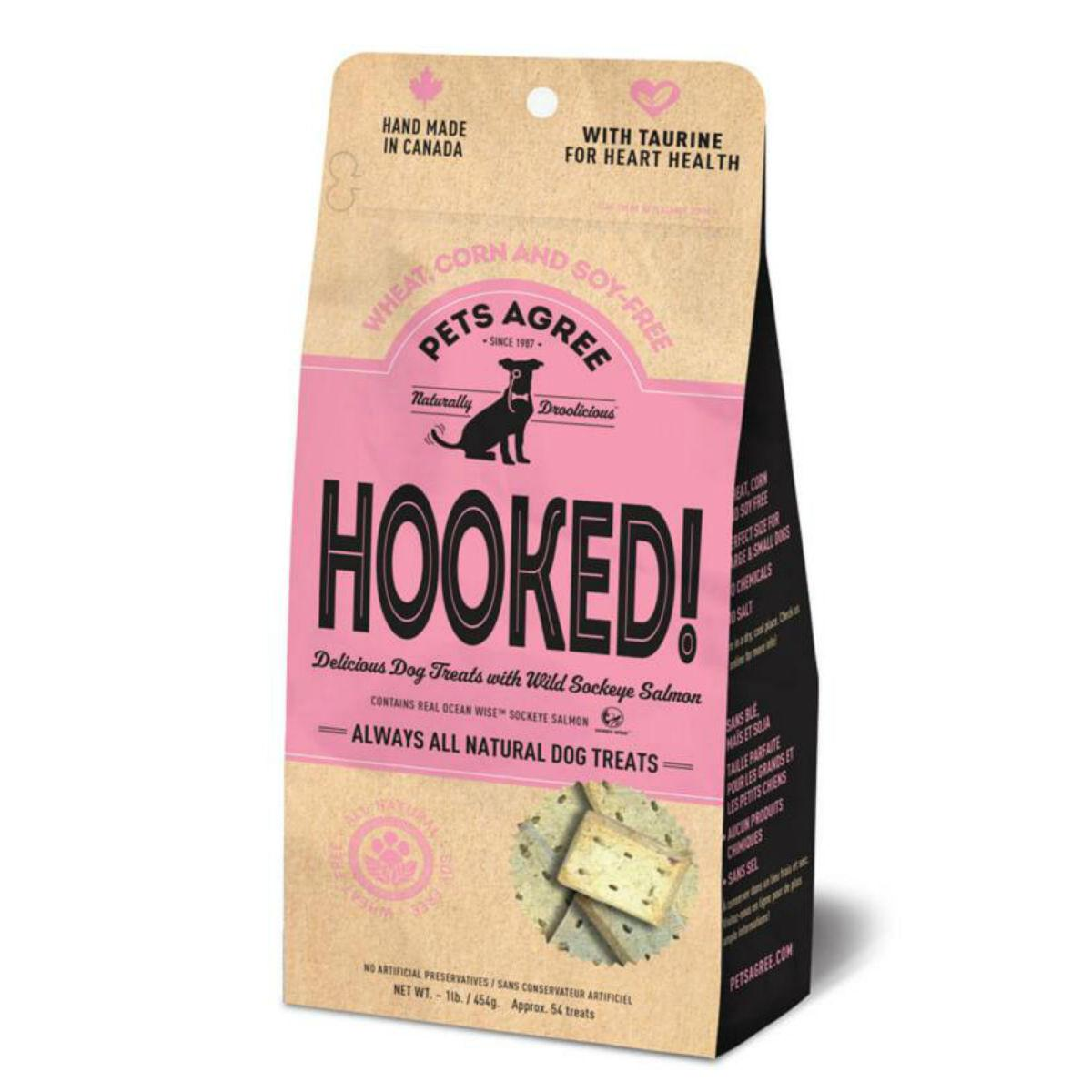Granville Pets Agree Hooked Biscuits Dog Treats - Salmon