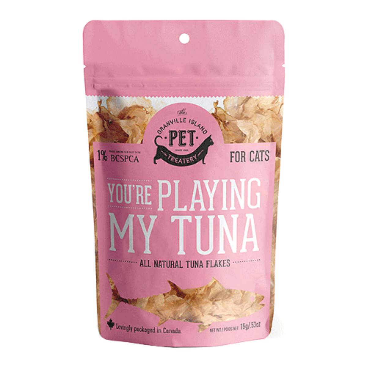 Granville Pure Protein Cat Treat - You're Playing My Tuna