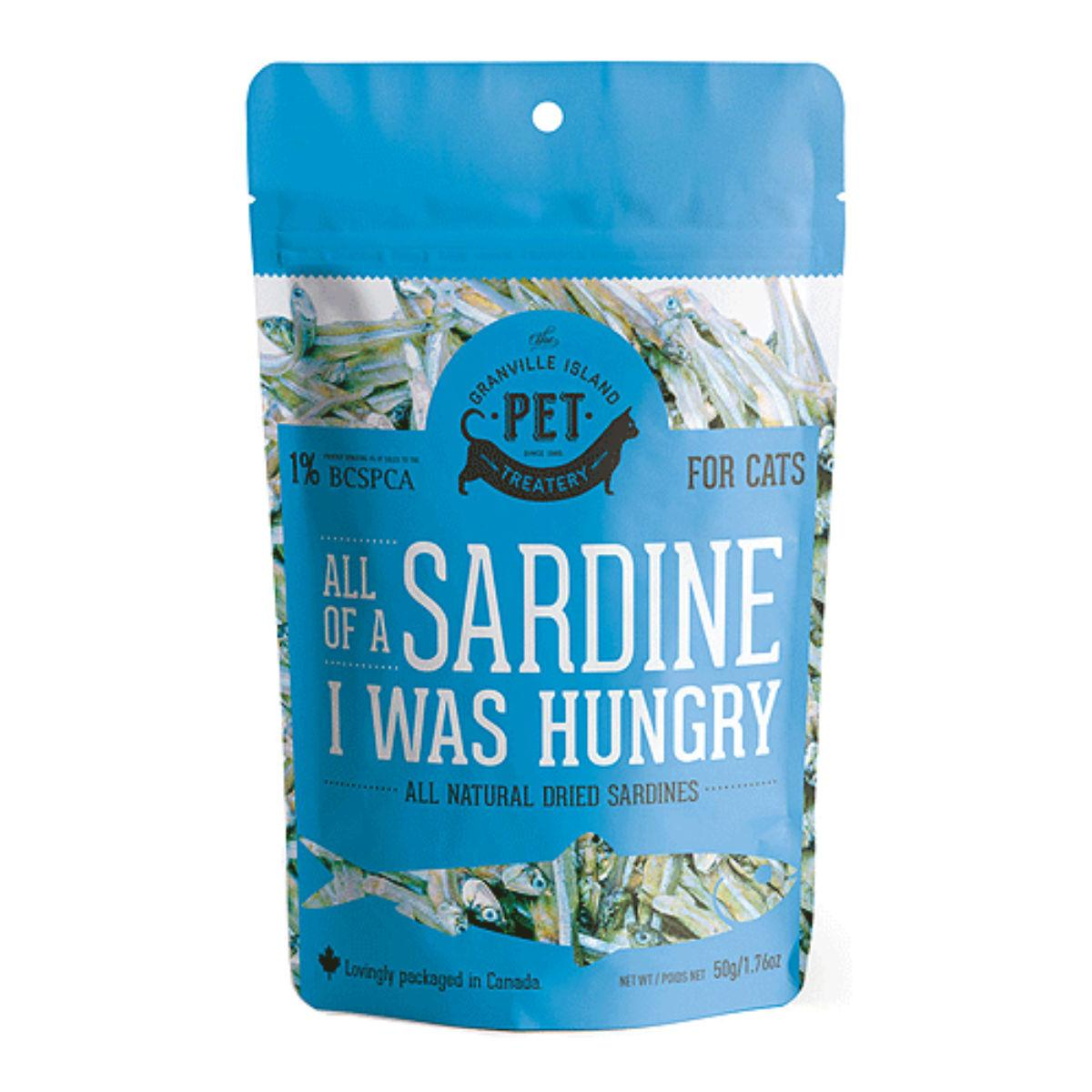 Granville Pure Protein Cat Treat - All of a Sardine I Was Hungry