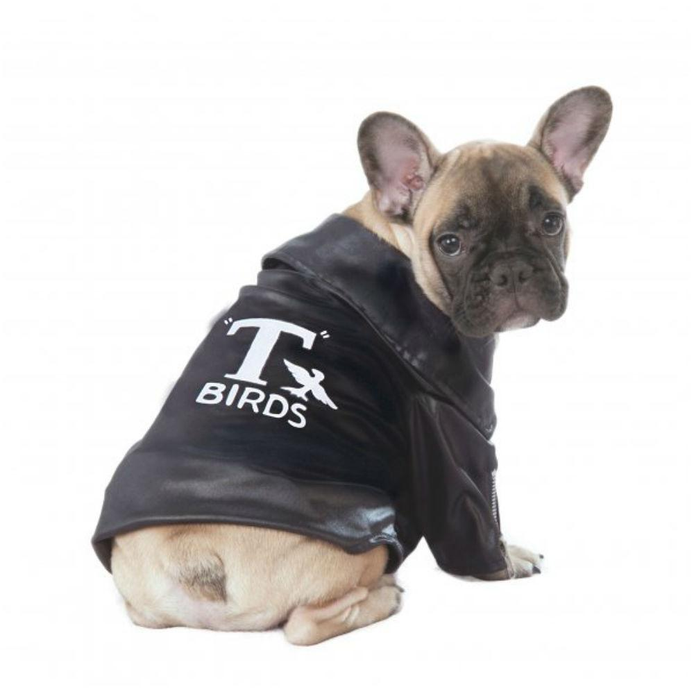 Grease T-Birds Jacket Dog Costume by Rubies