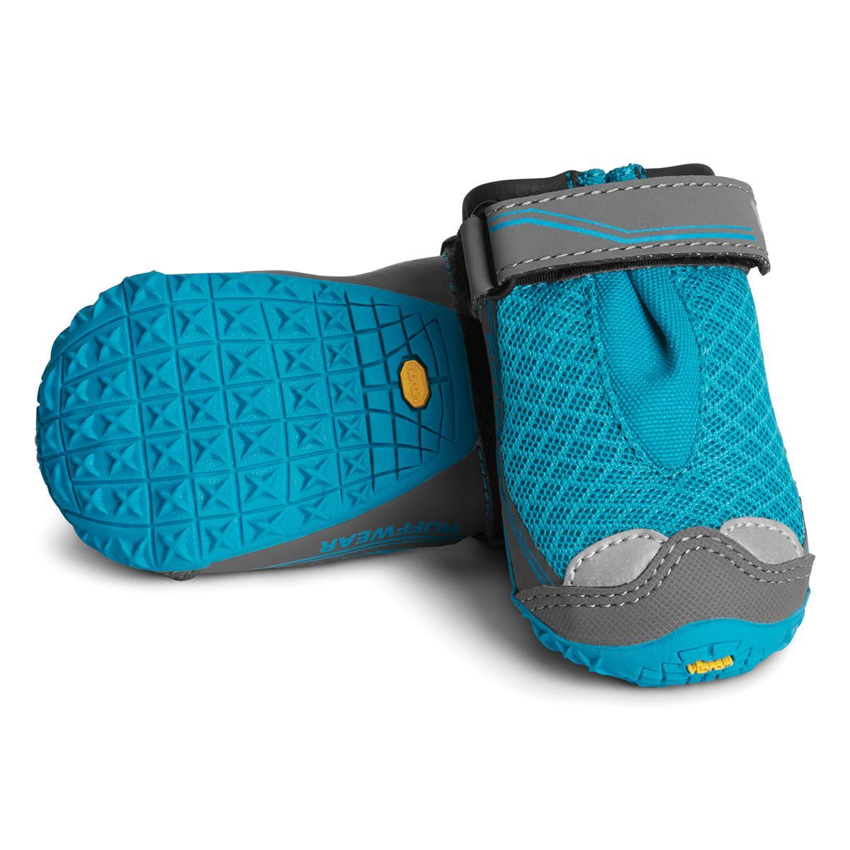 Grip Trex Dog Boots by RuffWear - 2 Pack - Blue Spring
