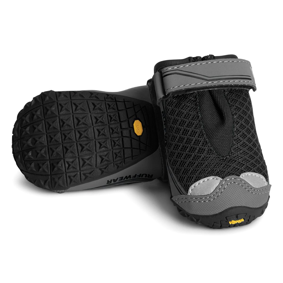 Grip Trex Dog Boots by RuffWear - 2 Pack - Obsidian Black