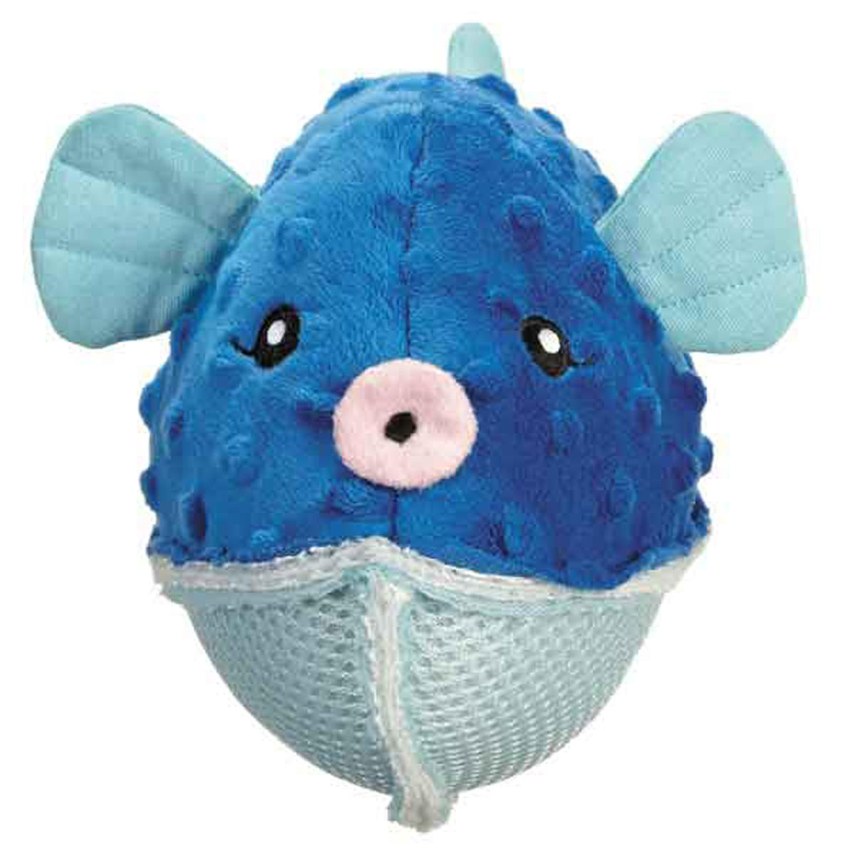 Grriggles Aquadudes Dog Toy - Puffer Fish