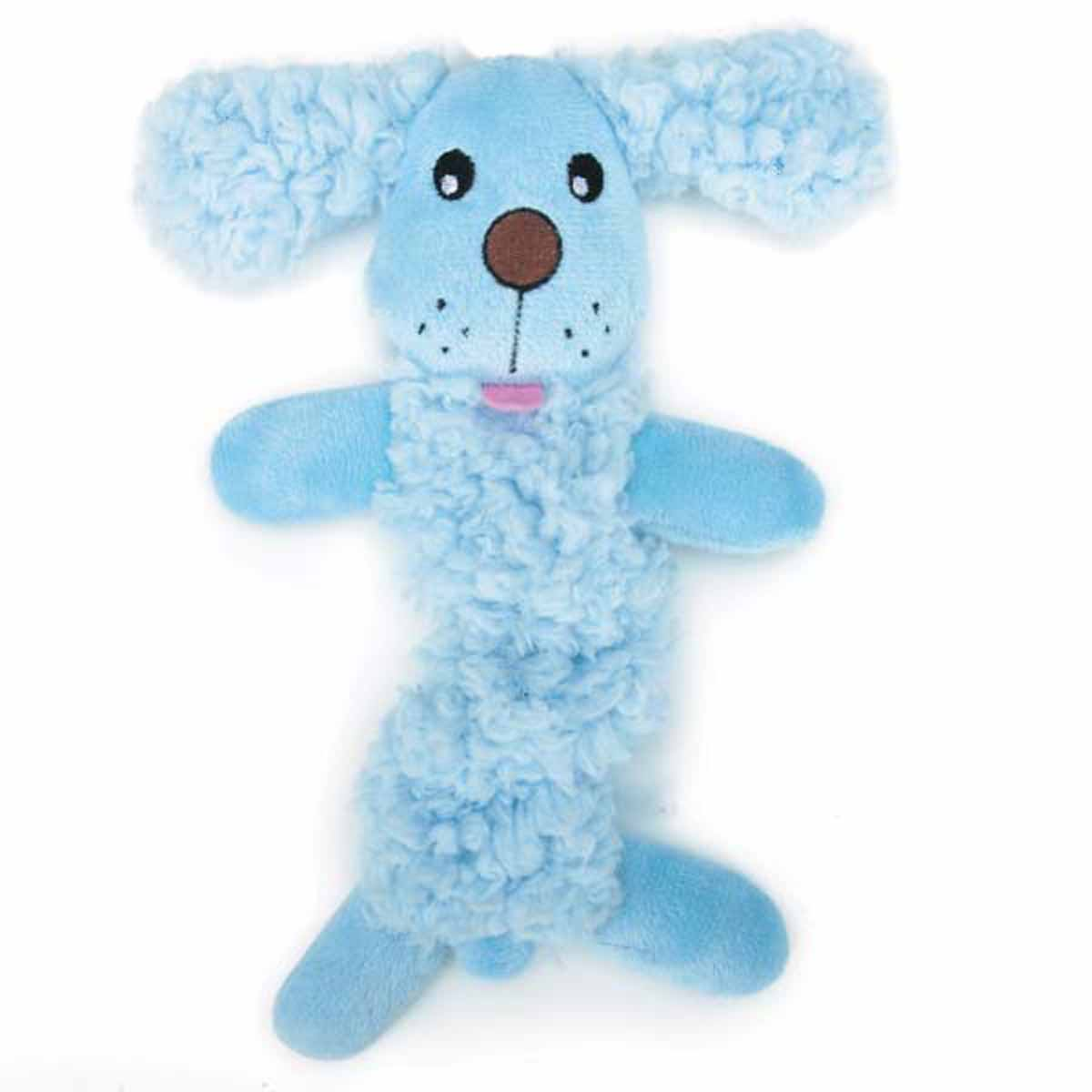 Grriggles Baby Bark Bungee Puppy Toy - Baby Blue