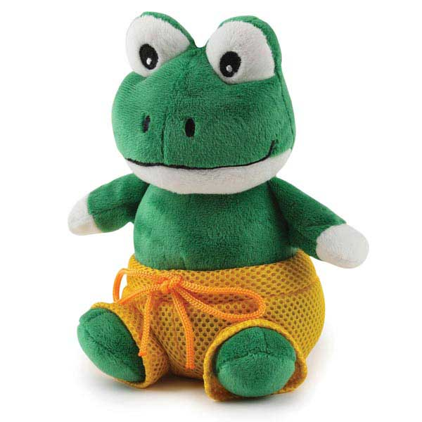 Grriggles Bathing Beauties Dog Toy - Frog