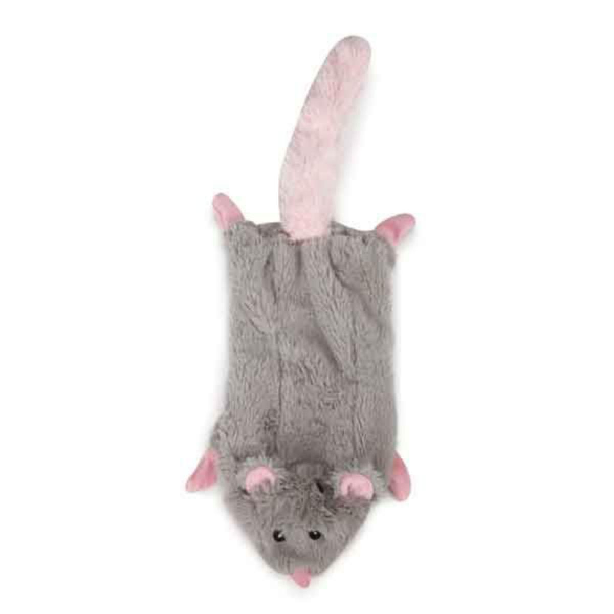 Grriggles Farm Friend Unstuffies Dog Toy - Opossum