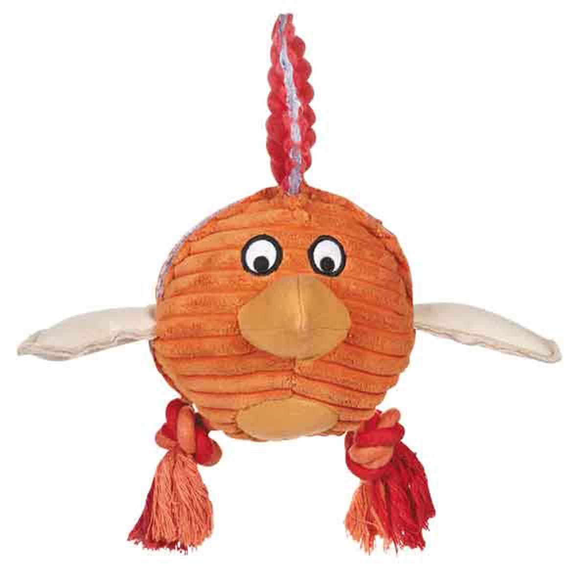 Grriggles Free-Range Friend Dog Toy - Rooster