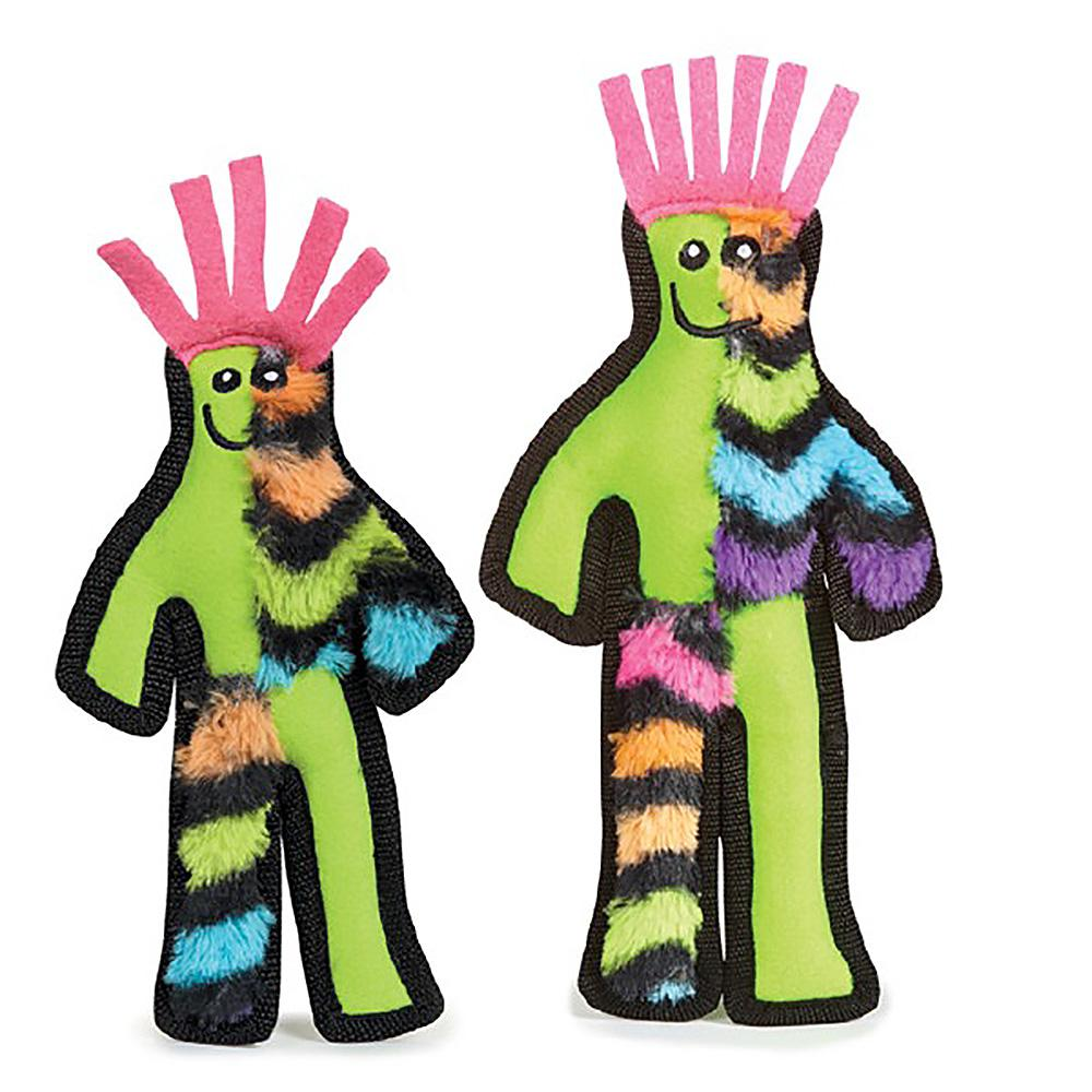 Grriggles Funky Fellas Dog Toy - Green