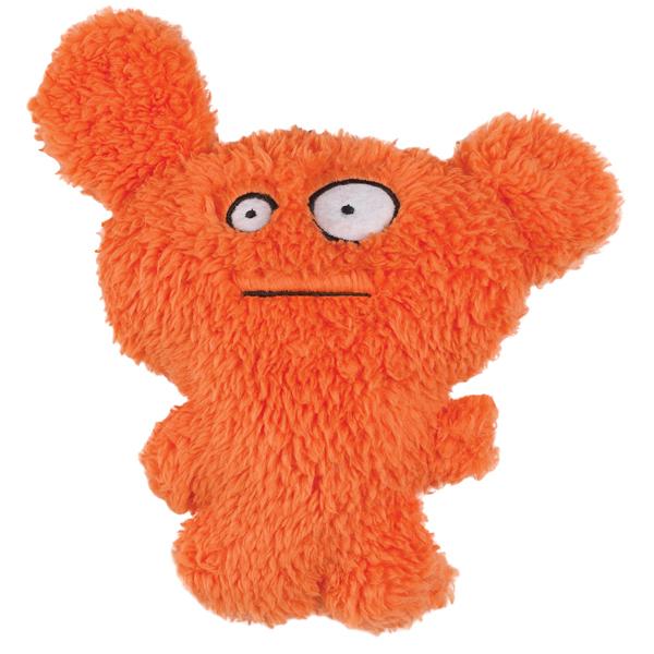 Grriggles Furzies Dog Toy - Orange