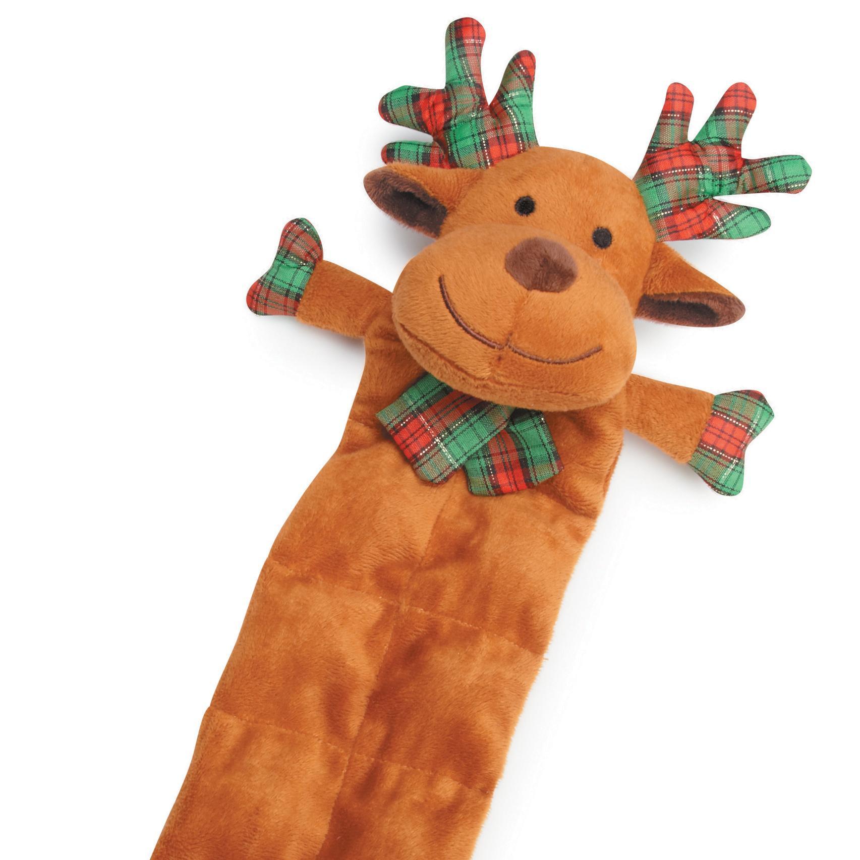 Grriggles Holiday Squeaktacular Dog Toy - Reindeer